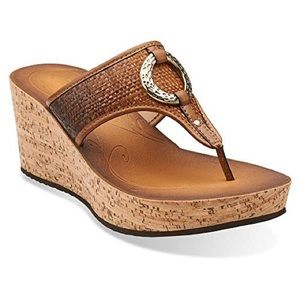 Clark's Collection Wedge Sandals